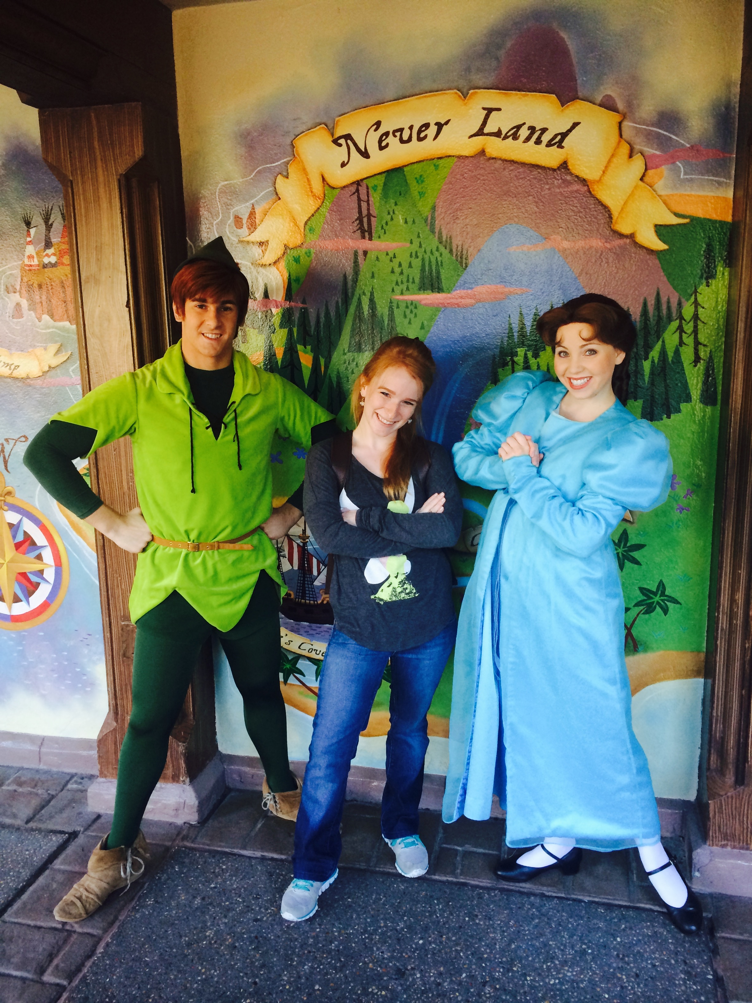 Peter Pan and Wendy Meet and Greet