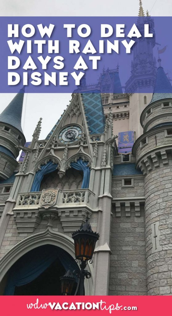 How to enjoy Walt Disney World if it rains on your next Disney vacation. Survival, tips and tricks to stay dry at Walt Disney World.