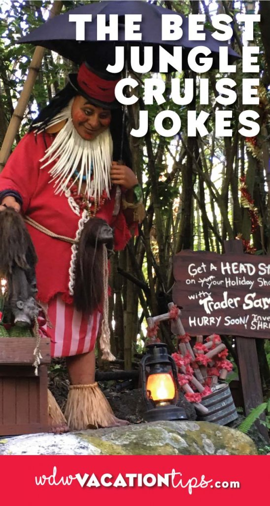 For all the Jungle Cruise fans out there! A list of the best Jungle Cruise jokes.