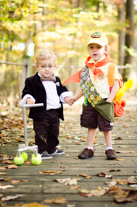 Transform your kids into Russell and Mr. Fredricksen from up. Get all the detail on how at Sol and Rachel.