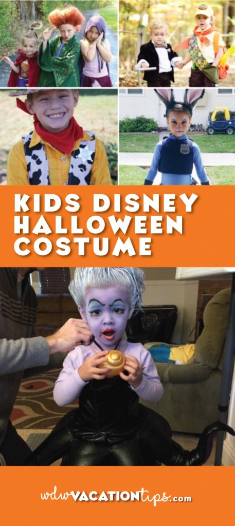Awesome Disney Kids Halloween Costume Ideas. These costumes are great for trick or treating wherever you live or for Mickey's Not So Scary Halloween Party!