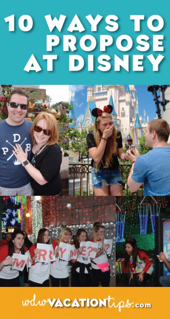 Ten ways you can surprise your princess with a proposal at Walt Disney World.