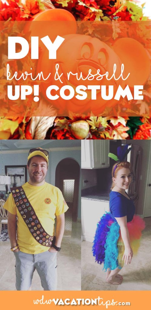 ac66a9c1eb8 DIY Make your own Russell and Kevin Costume from UP • WDW Vacation Tips