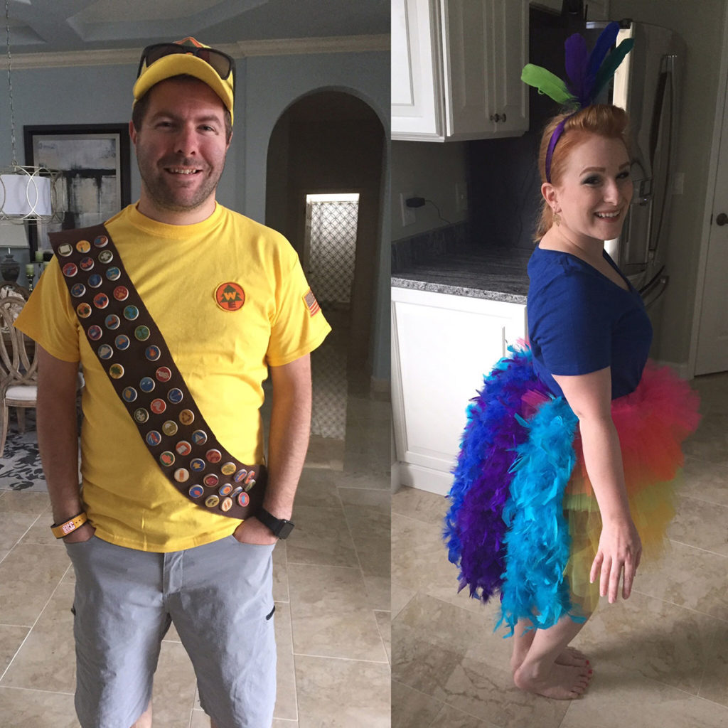 DIY Make Your Own Russell And Kevin Costume From UP • WDW