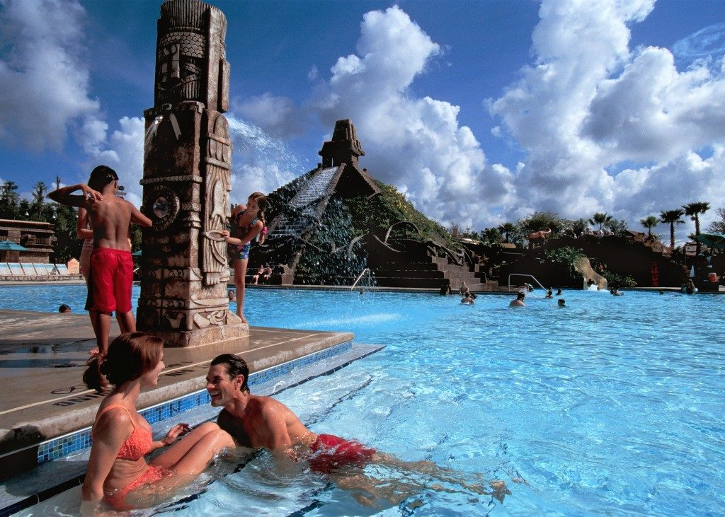 Disney's Coronado Lost City of Cibola pool. Copyright Disney.