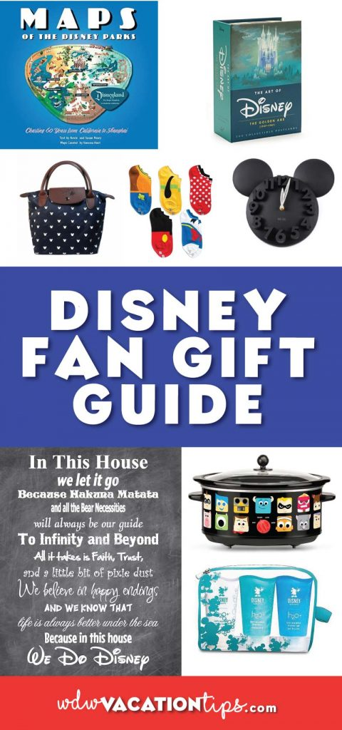 Gift guide for the Disney fan in your life.