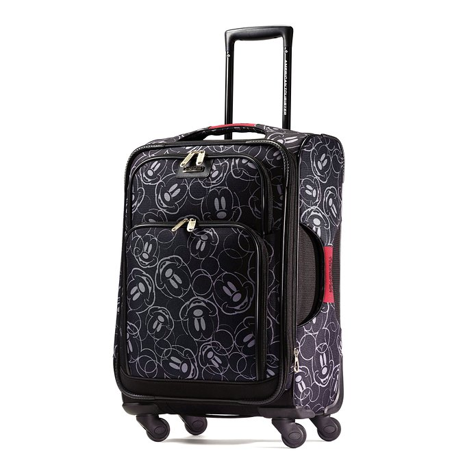 Roll into your next Disney vacation with some style! Plus in a sea of black luggage this one is sure to stand out at baggage claim.