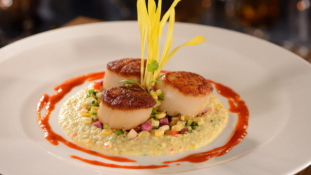 Dine at Flying Fish for some exquisite, modern seafood cuisine.