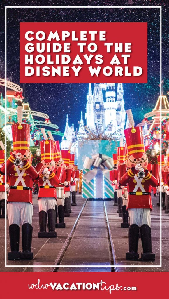 Everything I need to know for my Disney World Holiday Trip. A complete guide to all the Christmas and holiday offerings around the entire Disney World Resort.