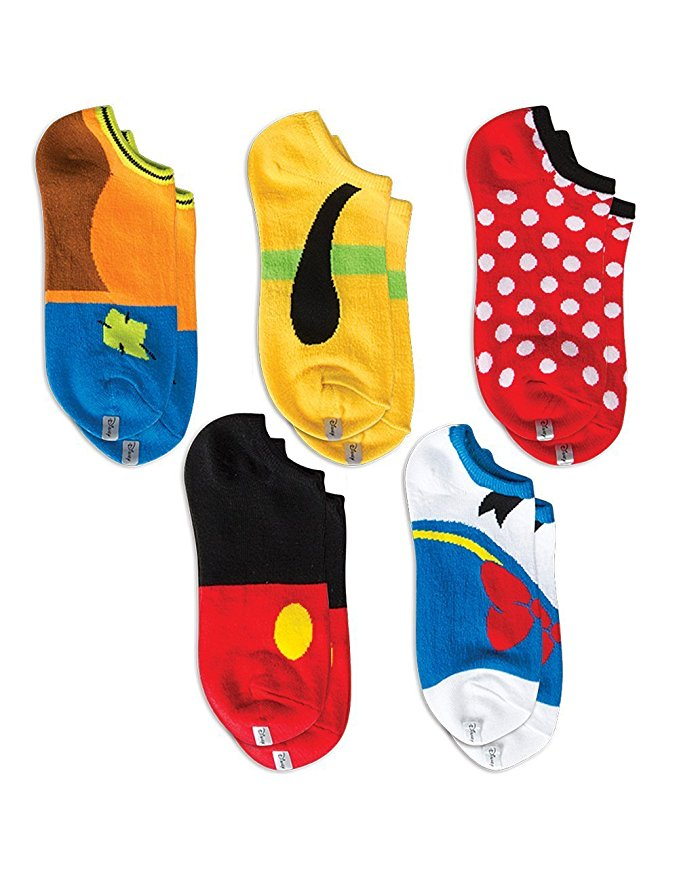 Keep your feet warm with a different Disney pal each day of the week! You can buy these socks here!