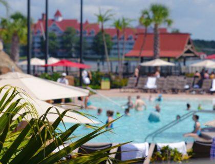 Polynesian resort pool
