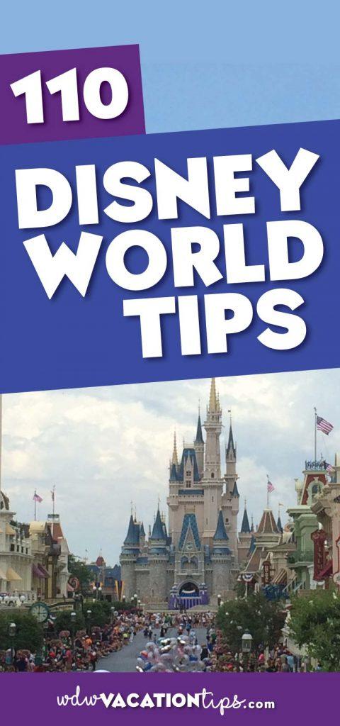 110 Disney World Vacation Tips