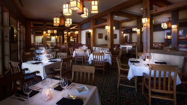 Cozy up with your special someone and a steak for two at Yachtsman Steakhouse.
