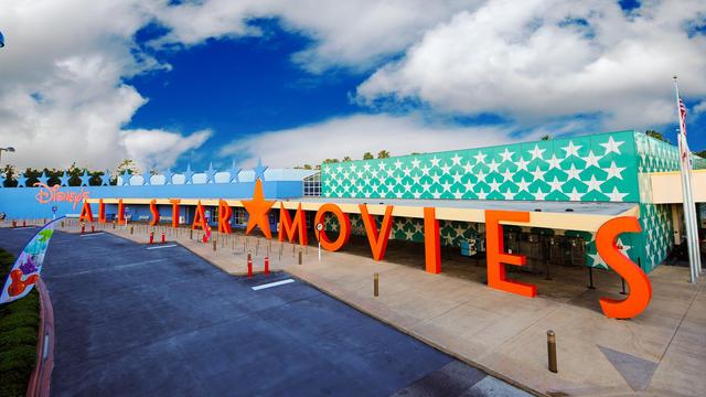 All Star Movies Resort at Walt Disney World. Copyright Disney.
