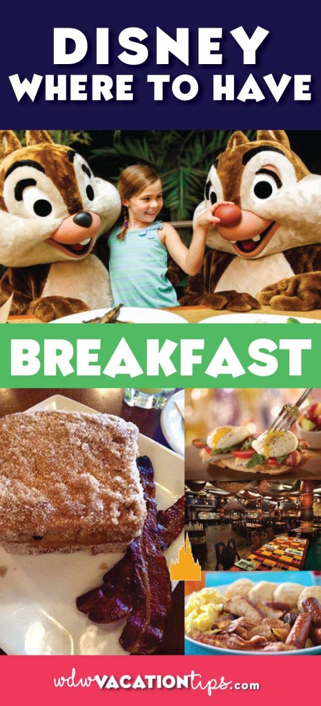 I feel like guests overlook some of the delicious breakfast options that Disney World offers so, I put together a list of 10 not to miss Disney breakfast reservations. Since our list is filled with many breakfast spots that are popular, we recommend making reservations early!