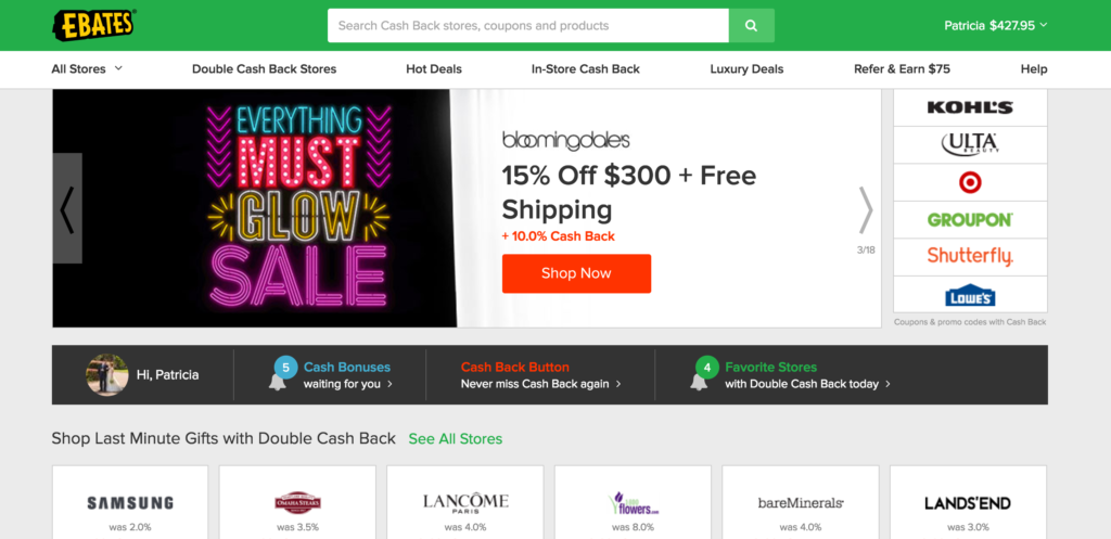 coupons extra cash for shopping Shopping and cash offers earn cashback while you shop online, get free samples and discounts from top brands, and more new offers posted regularly for members to.