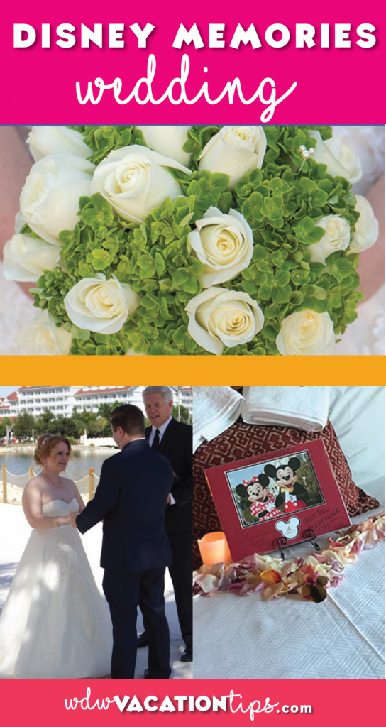 EVERYTHING you should know before you decide to go with a Disney Memories Wedding at Walt Disney World.