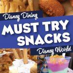 Must try Disney World Snacks