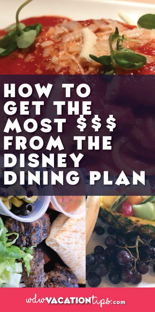Don't let your money spent on the Disney Dining Plan go to waste! Check out these awesome tips all about the dining plan offered at Walt Disney World.