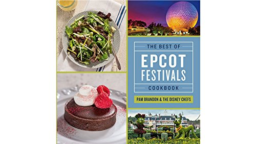 They say food is the way to one's heart! We love making some of our Disney festival favorites at home from this official Disney cookbook! Pick up the Epcot Festival Cookbook.