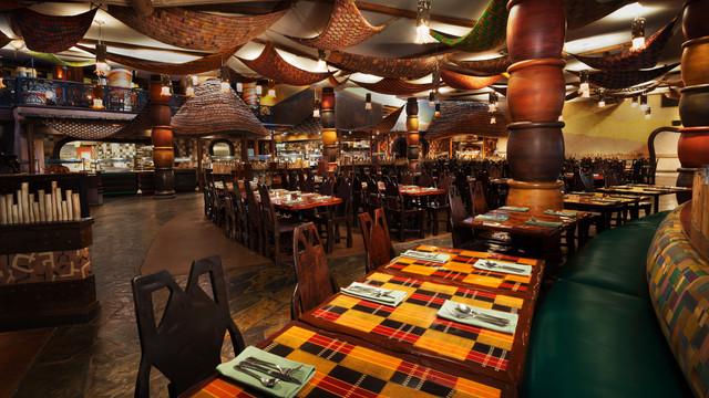 Boma is a buffet restaurant at the Animal Kingdom Lodge in Walt Disney World. Copyright Disney.