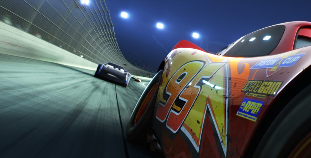 Cars 3 cruises into theaters on June 16, 2017. ©2016 Disney•Pixar. All Rights Reserved.