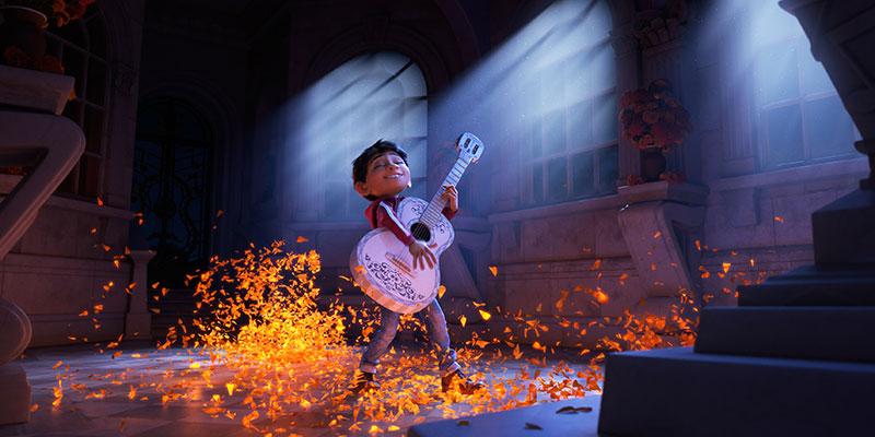 Pixar's Coco. Copyright Disney Pixar.
