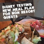 New Dining Plan Called Disney Dine on the Go 1