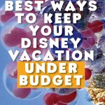 Beat ways to keep your Disney Vacation under budget.
