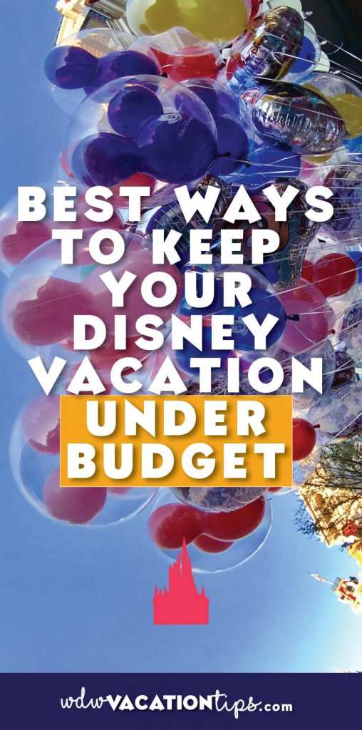 These tips ROCK!! Keeping your Disney vacation on and even under budget is possible. After years of traveling to the resort, I know these are the best tips for keeping your vacation to Disney under budget.