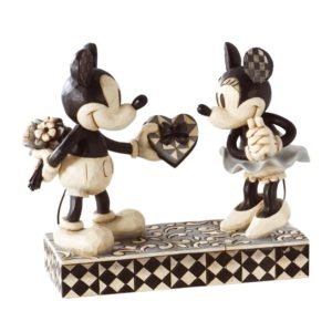 "Disney Traditions by Jim Shore Mickey and Minnie Mouse Figurine ""Real Sweetheart"" available at Amazon."
