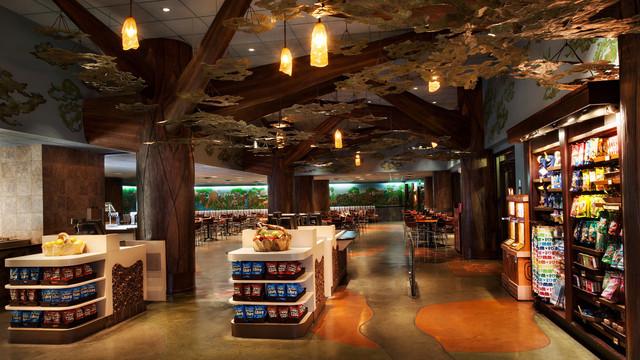 The Mara a quick service location at Disney's Animal Kingdom Lodge. Copyright Disney.