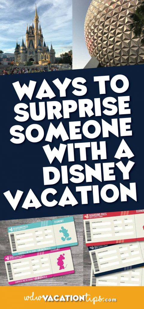 I CANT WAIT TO SURPRISE THE FAMILY USING ON THESE! There is nothing like surprising someone with the gift of a Disney vacation! Over the years I have seen so many creative ways to do it as well!