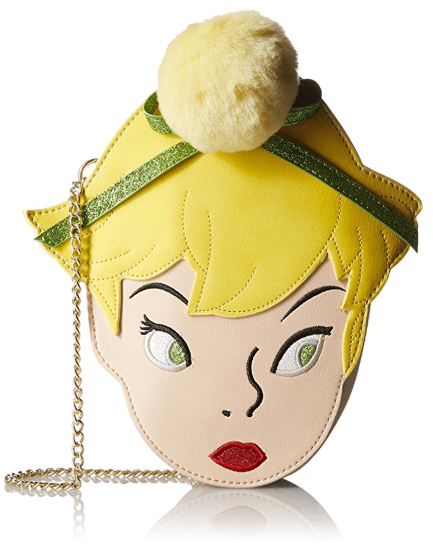 Disney by Danielle Nicole Tinkerbell Crossbody is the perfect statement piece! As such a big Tinkerbell fan this one is my favorite piece. Make sure you don't forget to bring your pixi dust along with you when you carry this purse!