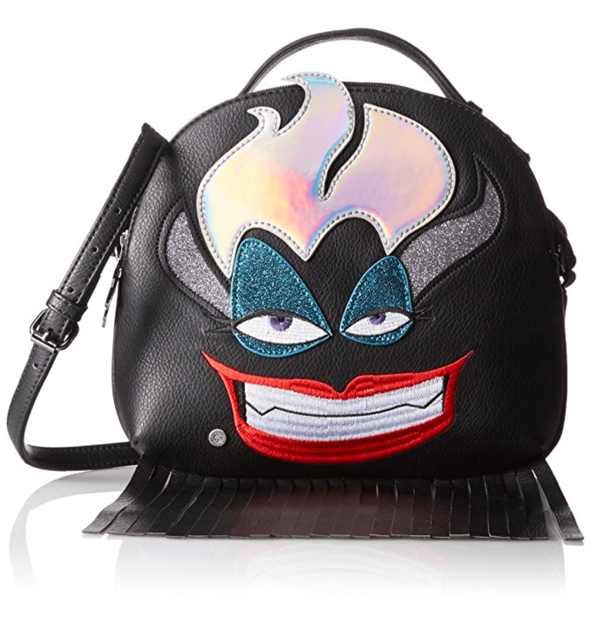 Disney by Danielle Nicole Ursula Crossbody. This purse is sure to leave everyone else speechless. Get yours today on Amazon.