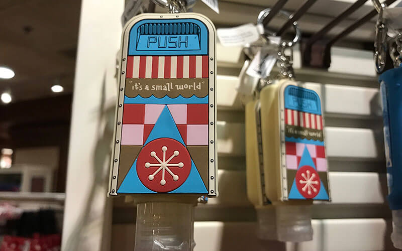 There are loads of options for Disney themed hand sanitizers. It also doubles a great way to keep germs away! The more you buy the more of a discount they give you!