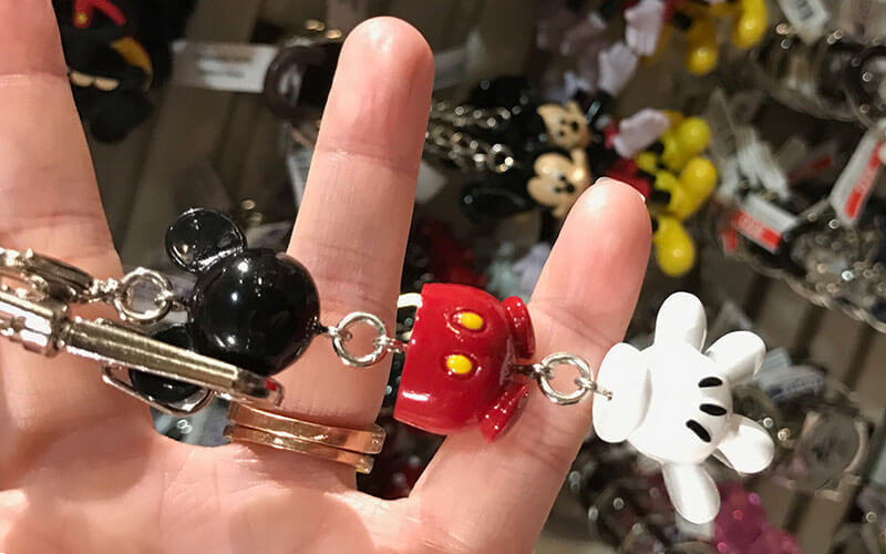 Disney keychains are everywhere at Disney and there are loads of great options to choose from.