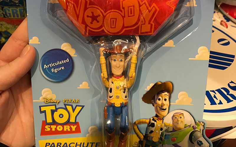 This cute little Toy Story parachute jumper is perfect for all the Pixar fans out there.
