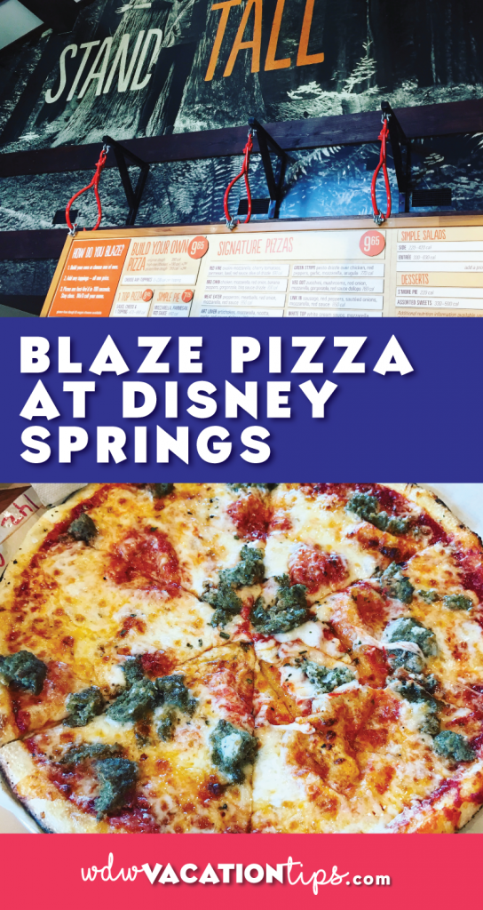 Blaze Pizza recently opened up at Disney Springs and it has stolen our hearts. If you wondering what is Blaze Pizza, I think the best way to describe it is, the Chipotle of Pizza.