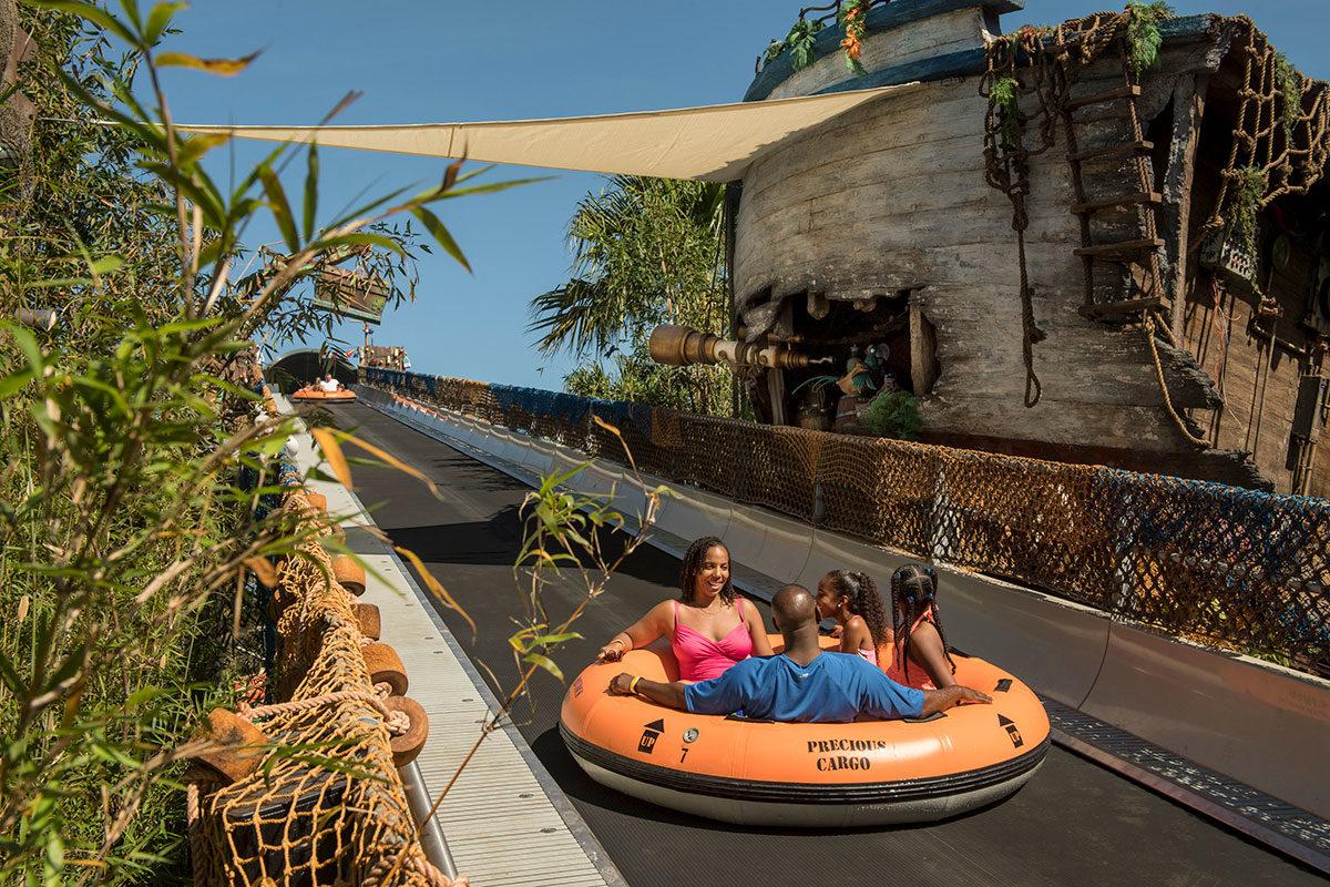 Miss Adventure Falls Opens at Disney's Typhoon Lagoon 1