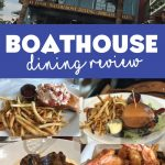 The Boathouse is nestled along the waterfront of Disney Springs. This signature restaurant specializing is service up seafood as the name would suggest.