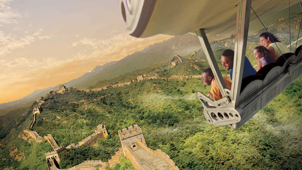 Soarin Around the World opened at Epcot in 2016.