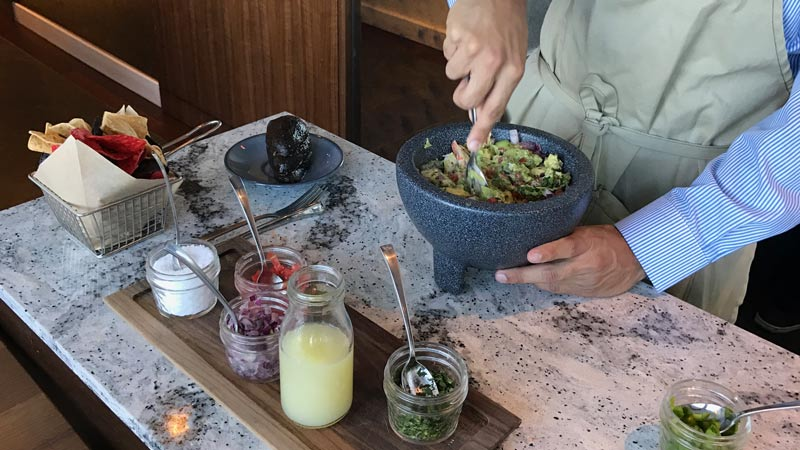 Tableside Lobster Guacamole