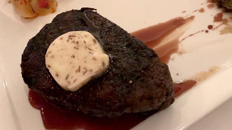 Seasonal Wagyu Beef from California Grill.