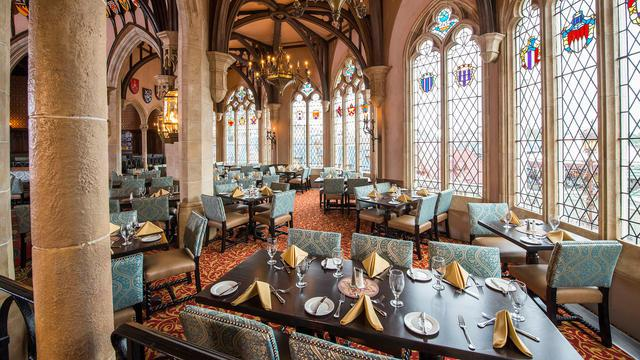 Cinderella's Roal Table is one the best character dining at Disney World.