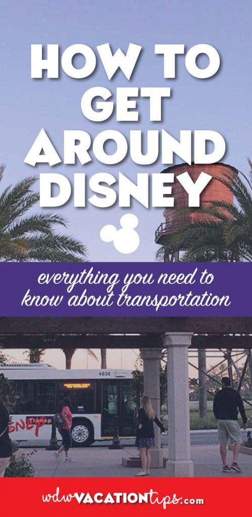 Getting around Disney World