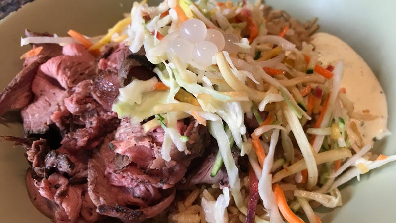 Build Your Own, Steak Rice Bowl