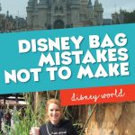 The biggest mistakes you can make when packing your theme park bag for the day and best of all how to avoid them!