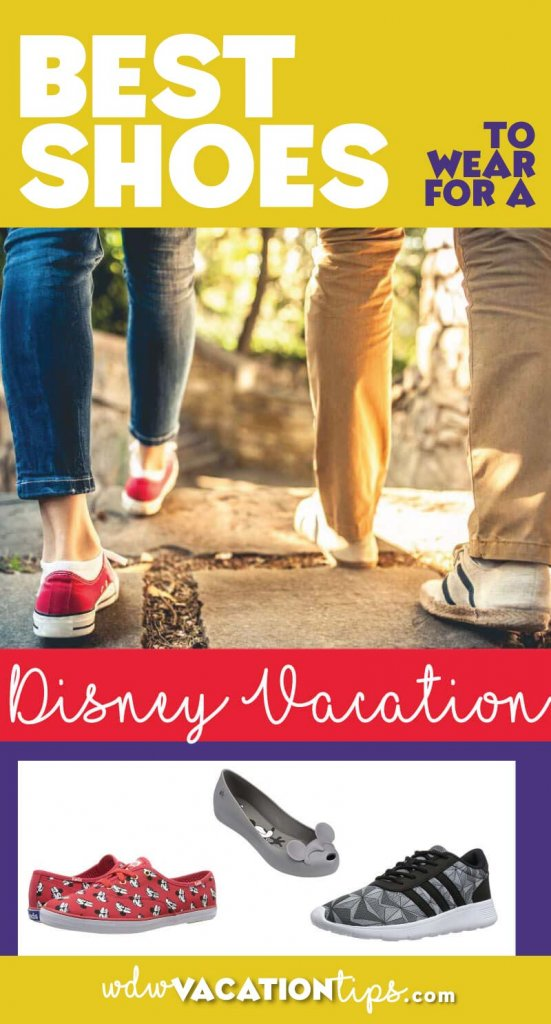 This is a really popular question that we get asked so we thought you might like it if we put together list of our favorite shoes to wear to the parks!