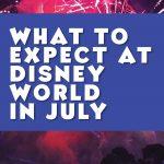 July at Disney World